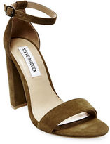 Steve Madden Carrson Suede Sandals