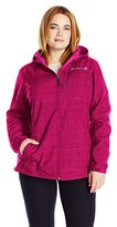 Free Country Women's Plus Size Softshell Active Body-Hashtag Print