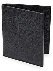 Thom Browne Men's Pebble-Grain Leather Passport Holder