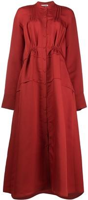 Jil Sander Long-Sleeve Long Shirtdress