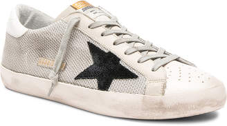 Golden Goose Superstar Sneakers in Grey Cord Gum | FWRD