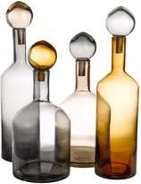 Pols Potten Bubbles & Bottles Chic Set Of 4 Bottles