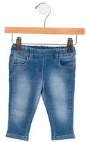 Gucci Girls' Straight-Leg Elasticized Jeans