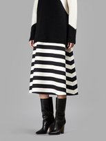 Black And White Striped Skirt - ShopStyle