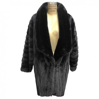 Karl Lagerfeld Paris Black Mink Coat for Women Vintage