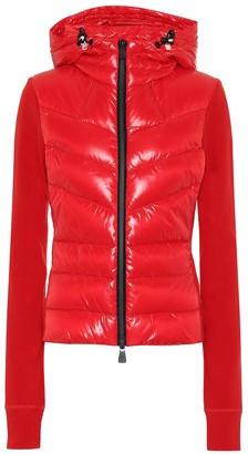 MONCLER GRENOBLE Down-trimmed jacket