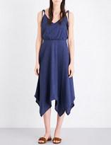 MiH Jeans Petal cotton and linen-blend midi dress