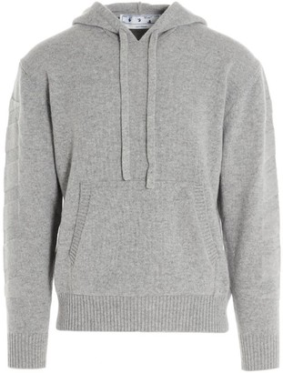 Off-White Diag Cashmere Hoodie