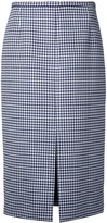 Michael Kors checked skirt - women - Virgin Wool - 4