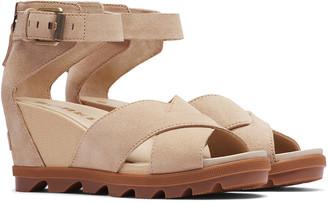 Sorel Joanie Ii Lace Nubuck Leather Sandal