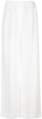 Brunello Cucinelli High-Rise Wide-Leg Trousers