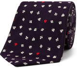 Paul Smith Heart Motif Tie