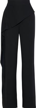 Mason by Michelle Mason Draped Crepe Wide-leg Pants