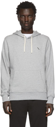 Saturdays NYC Grey Ditch Slash Hoodie