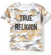 True Religion Little Boys 2T-7 Short-Sleeve Rustic Metallic Camouflage Tee