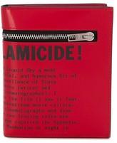 Acne Studios magazine-print trifold wallet