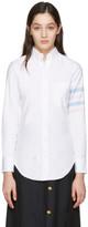 Thom Browne White Oxford Classic Shirt