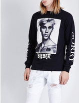 Justin Bieber Purpose Tour Sorry cotton-jersey top