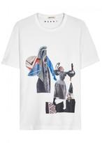 Marni X Sally Smart Printed Cotton T-shirt