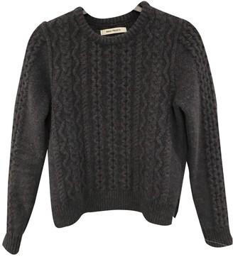 Norse Projects Grey Wool Knitwear for Women