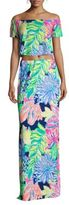 Lilly Pulitzer Two-Piece Floral & Leaf Print Mansi Set