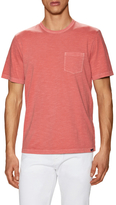 Faherty Knit Pocket Tee