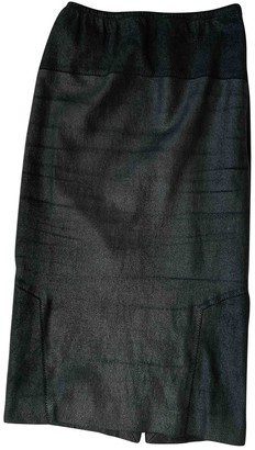Faith Connexion Black Leather Skirt for Women
