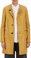 Marni WOMEN'S REVERSIBLE SHEARLING COAT