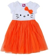 Hello Kitty Toddler Girls' Halloween Dress - White
