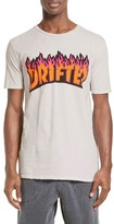 Drifter Men's Flame Logo Graphic T-Shirt