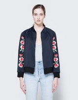 Scuba Embroidered Bomber