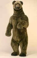 The Well Appointed House Hansa Toys Life Size Stuffed Grizzly Bear