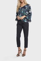 Willow & Clay Floral Bell Sleeve Top
