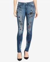 William Rast Printed Skinny Jeans