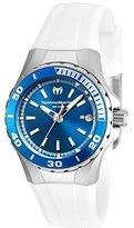 Technomarine Women's TM-215056 Sea Manta Analog Display Swiss Quartz White Watch