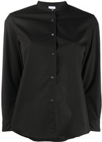 Aspesi plain mandarin collar shirt