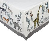 DwellStudio Crib Skirt- Safari Multi