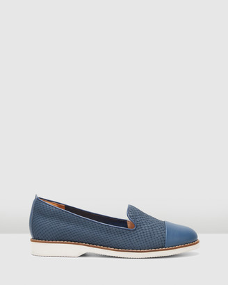 Hush Puppies Women's Navy Loafers - Demi - Size One Size, 9 at The Iconic