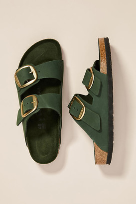 Birkenstock Arizona Big Buckle Sandals By in Green Size 37