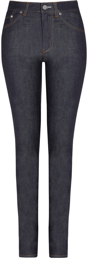 Acne Needle high-rise skinny jeans