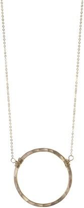 Nashelle Large Hoop Necklace