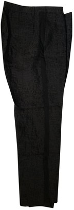 AllSaints Black Cloth Trousers for Women