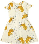 Mini Rodini Unicorns Organic Cotton Jersey Dress