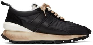 Lanvin Black Bumper Sneakers