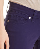 Levi's Juniors' 524 Skinny Cropped White Tab Jeans