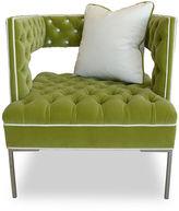 Haute House Rubric Modern Velvet Chair