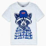 Levi's Little Boys (4-7x) Raccoon Buddy Graphic Tee