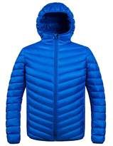 ZSHOW Men's Winter Hooded Packable Down Jacket