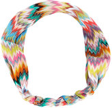 Missoni striped hairband - women - Rayon - One Size