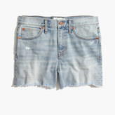 Madewell Denim Boyshorts: Cutoff Edition